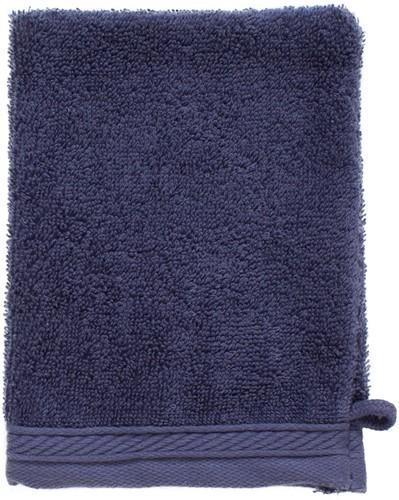 T1-ORGWASH Organic washcloth - Denim faded  - 16 x 21 cm