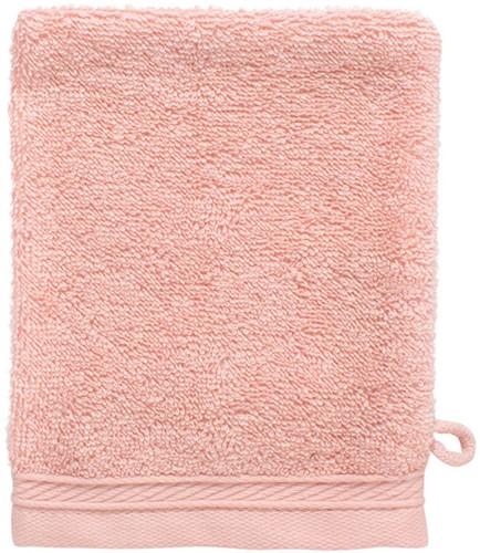 T1-ORGWASH Organic washcloth - Salmon - 16 x 21 cm