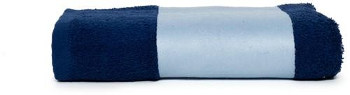 T1-PRINT50 Sublimation towel - Navy blue - 50 x 100 cm