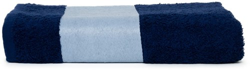 T1-PRINT70 Sublimation bath towel - Navy blue - 70 x 140 cm