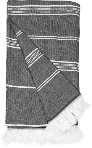 T1-RHAM Recycled hamam towel - Steel grey - 100 x 180 cm