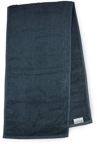 T1-SPORT Sport towel - Anthracite - 30 x 130 cm