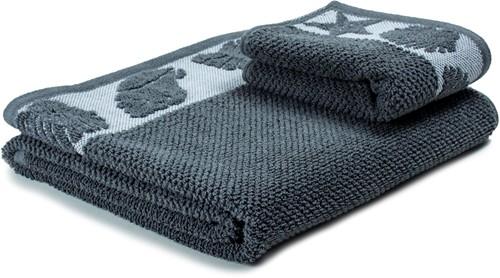 T1-SUMMER60 Exclusive towel set - White/storm front