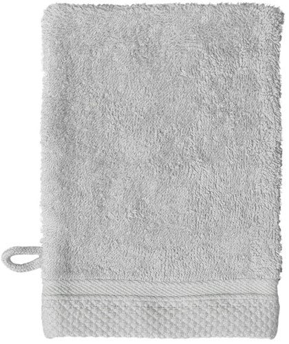 T1-ULTRAWASH Ultra deluxe washcloth - Silver grey - 16 x 21 cm