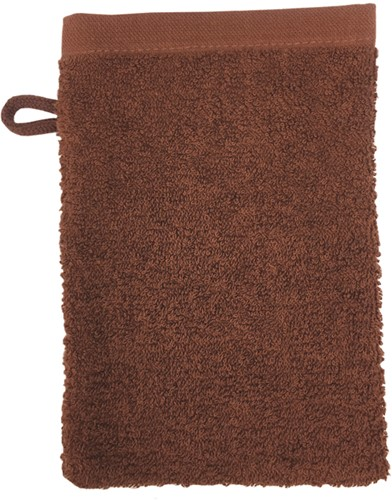 T1-WASH Washcloth - Brown - 16 x 21 cm
