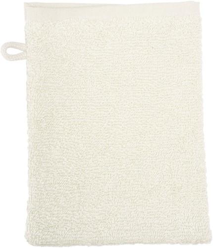 T1-WASH Washcloth - Ivory cream - 16 x 21 cm