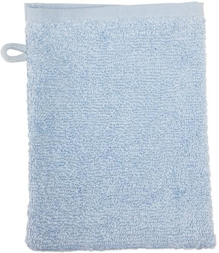 T1-WASH Washcloth - Light blue - 16 x 21 cm