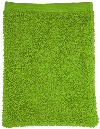 T1-WASH Washcloth - Lime green - 16 x 21 cm