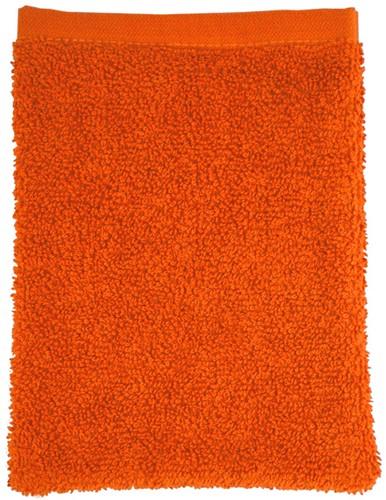 T1-WASH Washcloth - Orange - 16 x 21 cm