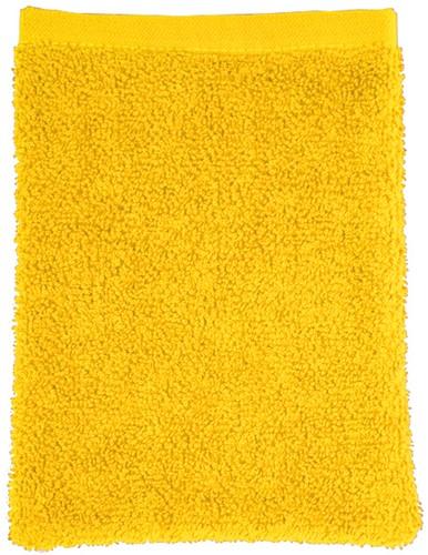 T1-WASH Washcloth - Yellow - 16 x 21 cm