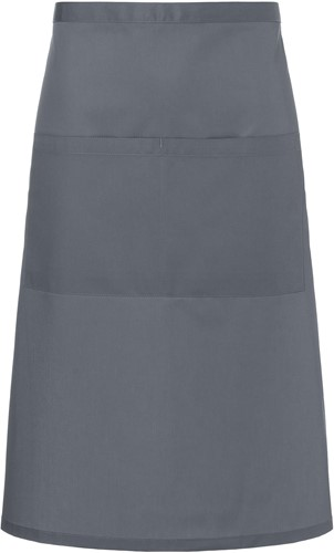 BBSS 3 Bistro Apron Basic with Pocket 70 x 70 cm - Anthracite - Stck