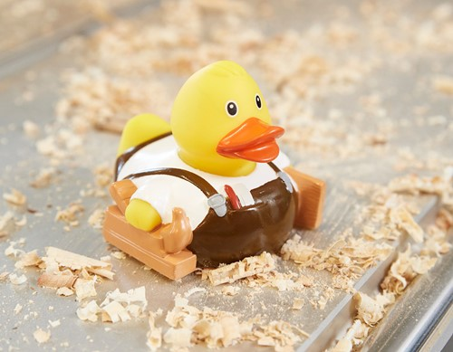 M131246 Squeaky duck carpenter - Multicoloured - one size