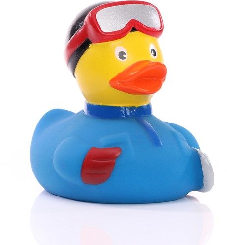 M131092 Squeaky duck snowboarder - Multicoloured - one size