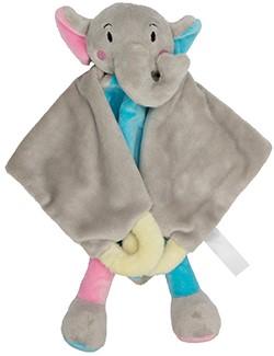 M160882 Cuddly blanket elephant - Multicoloured - one size