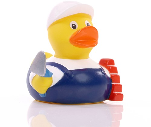 M131255 Squeaky duck bricklayer - Multicoloured - one size
