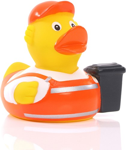 M131260 Squeaky duck garbage man - Multicoloured - one size