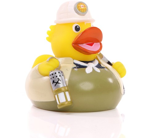 M132040 Squeaky duck miner - Multicoloured - one size