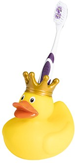 M131211 Squeaky duck tooth brush holder - Multicoloured - one size