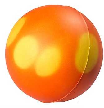 M124480 Colour changing ball - Orange - one size
