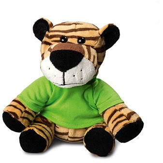 M160032 Zoo animal tiger David - Light brown - one size
