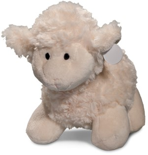 M160075 Plush sheep Connor - White - one size