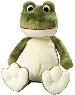 M160213 Softplush frog Raphael - Light green - one size