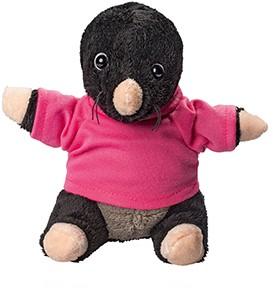 M160345 Plush mole Leve - Black - one size