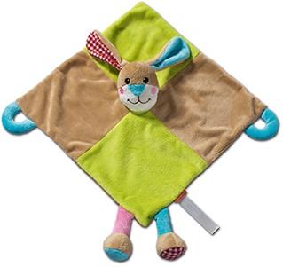 M160360 Cuddly blanket rabbit - Multicoloured - one size