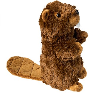 M160637 Plush beaver Brian - Brown - one size