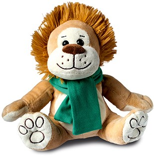 M160647 Plush lion Rudi - Light brown - one size