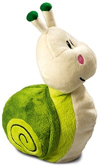 M160680 Plush snail Susanne - Light green - one size