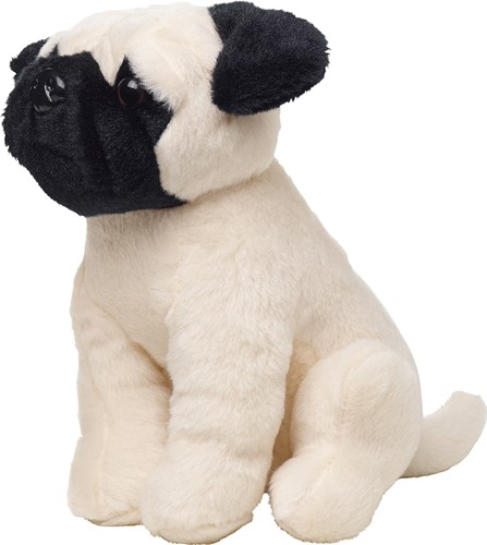 M160827 Pug Dog Birgit - Cream - one size