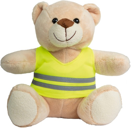 M160067 Plush bear Siggi - Beige - one size