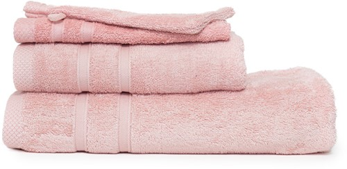 T1-BAMBOO30 Bamboo guest towel - Salmon - 30 x 50 cm