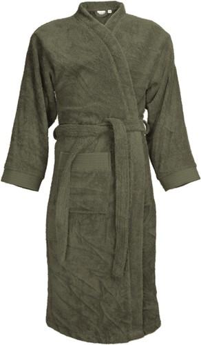 T1-B Bathrobe - Olive green - L/XL