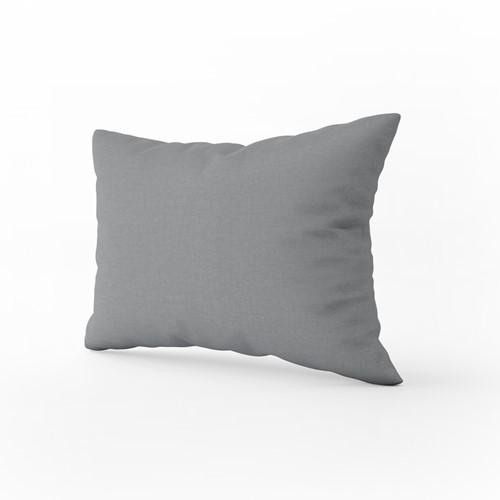 T1-PILLOW Pillow Case Classic - Dark grey - 60 x 70 cm