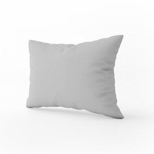 T1-PILLOW Pillow Case Classic - Light grey - 60 x 70 cm