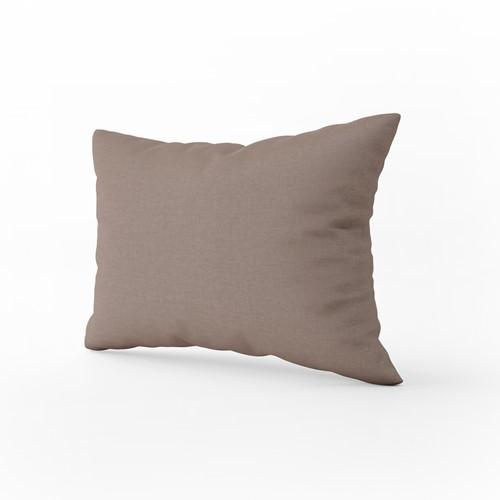 T1-PILLOW Pillow Case Classic - Taupe - 60 x 70 cm