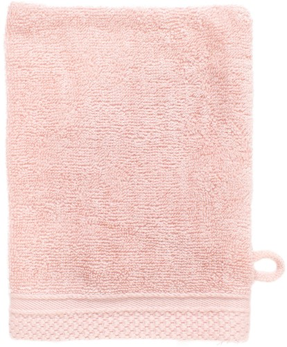 T1-ULTRAWASH Ultra deluxe washcloth - Salmon - 16 x 21 cm